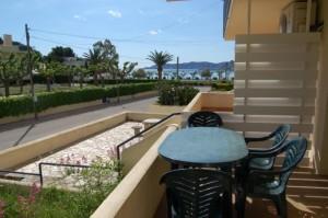 Apartament Llançà terrassa mar