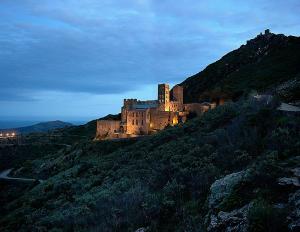 Vista Monestir Sant Pere Rodes