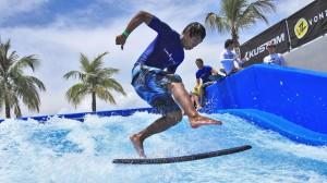 Wave Club Empuriabrava, simulador de olas